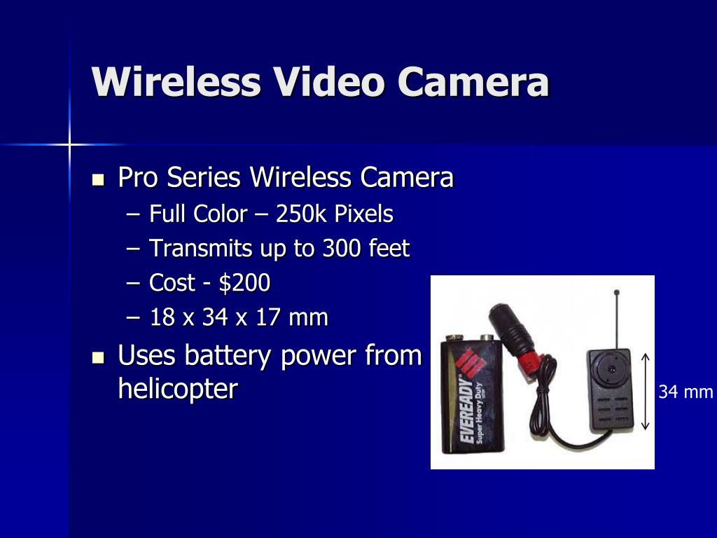 Wireless Video Camera