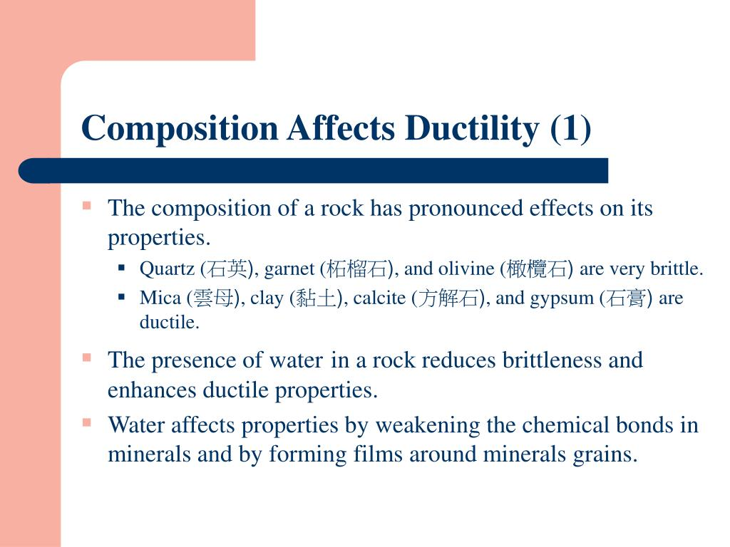 Composition Affects Ductility (1)