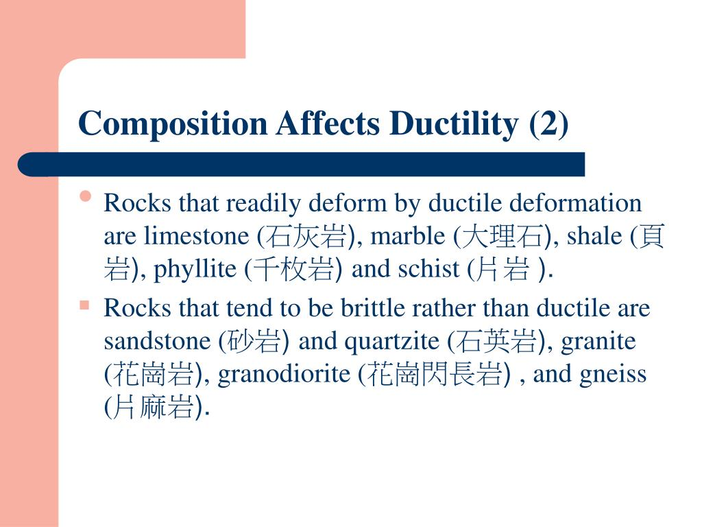 Composition Affects Ductility (2)