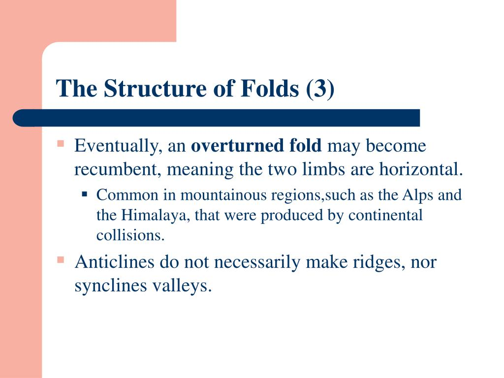 The Structure of Folds (3)