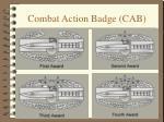 combat action badge cab1