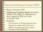 operation enduring freedom oef