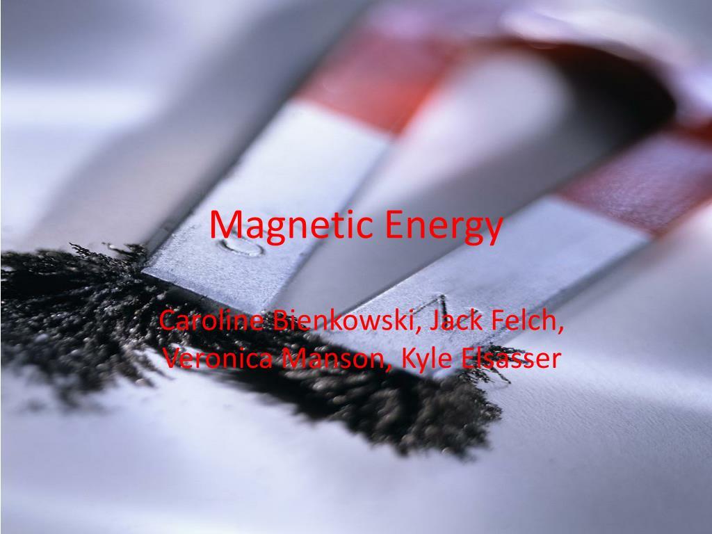 magnetic energy l.