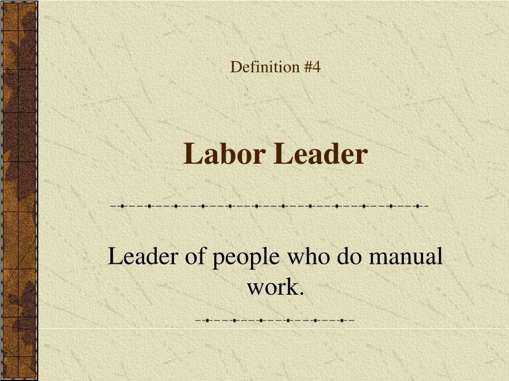 Definition #4