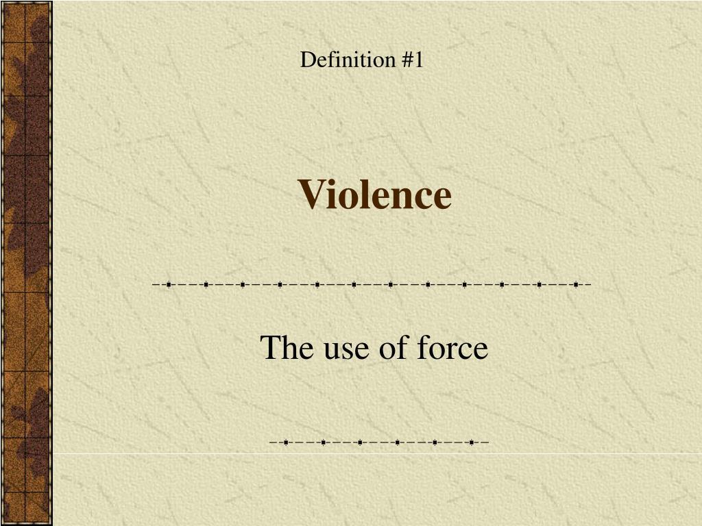Definition #1