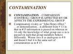 contamination71