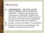 maturation30
