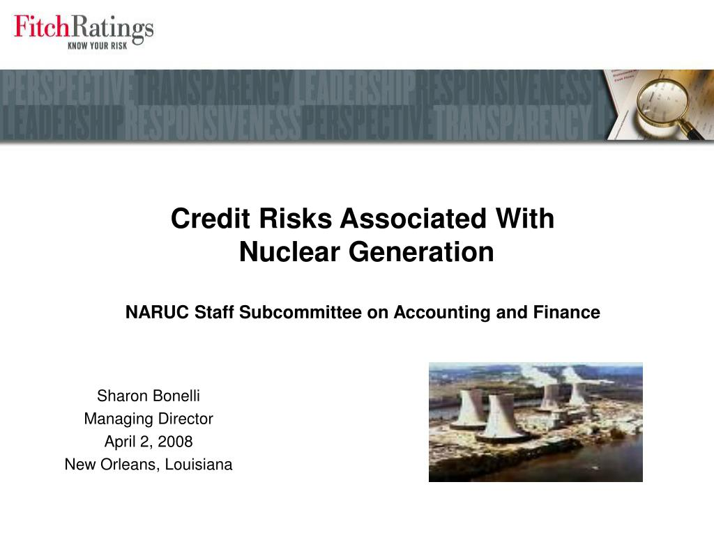 Credit Risks Associated With
