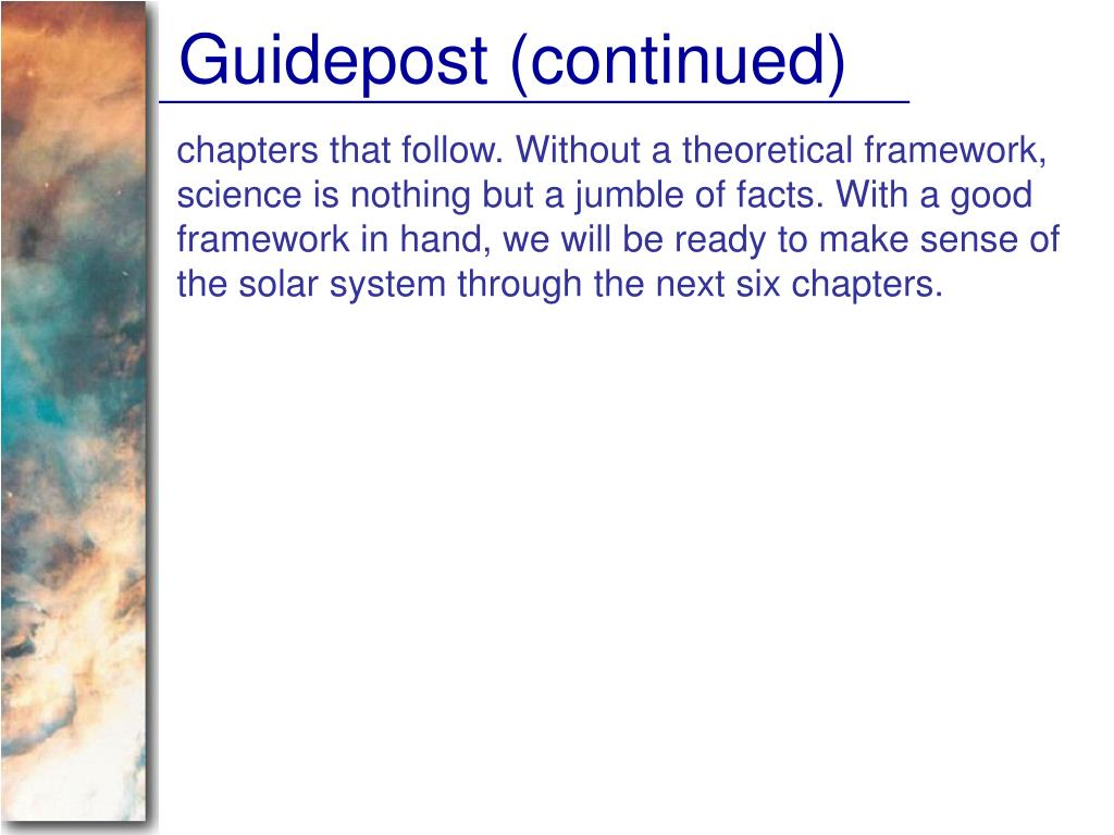 Guidepost (continued)