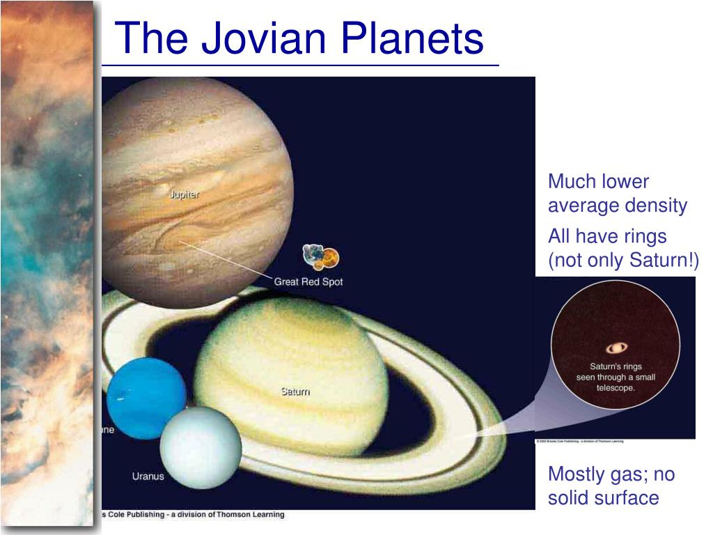 The Jovian Planets