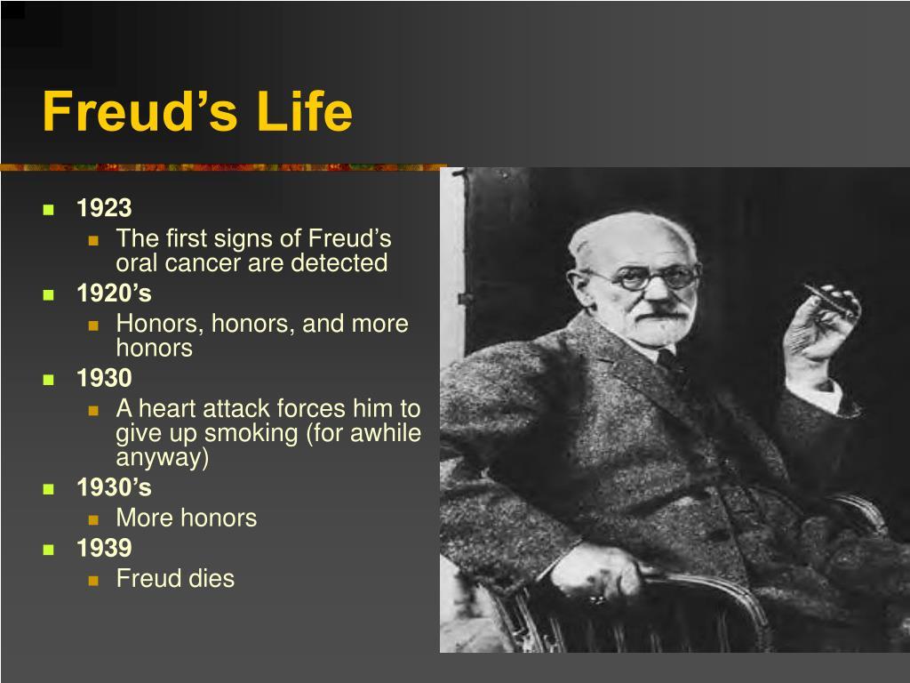 Freud's Life