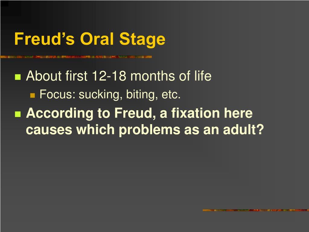 Freud's Oral Stage
