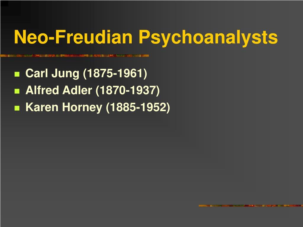 Neo-Freudian Psychoanalysts