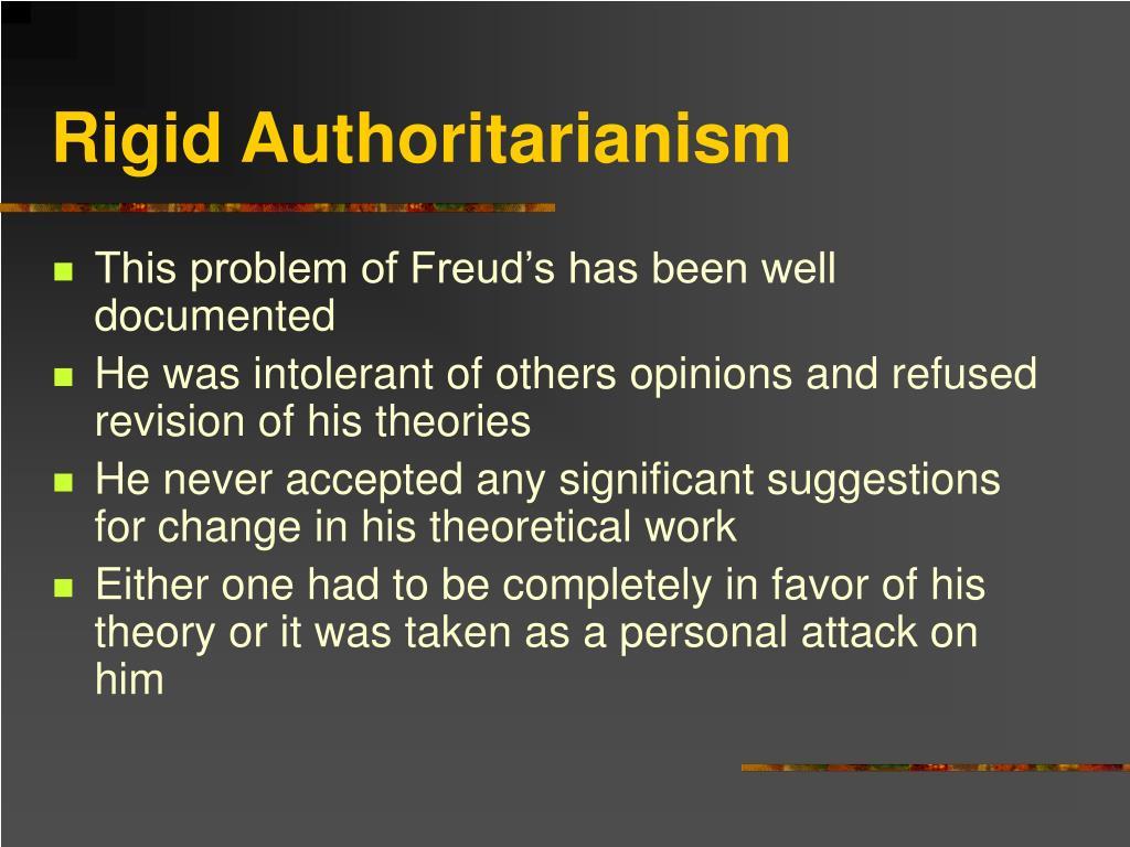 Rigid Authoritarianism