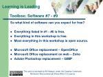 toolbox software 7 9