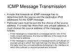 icmp message transmission