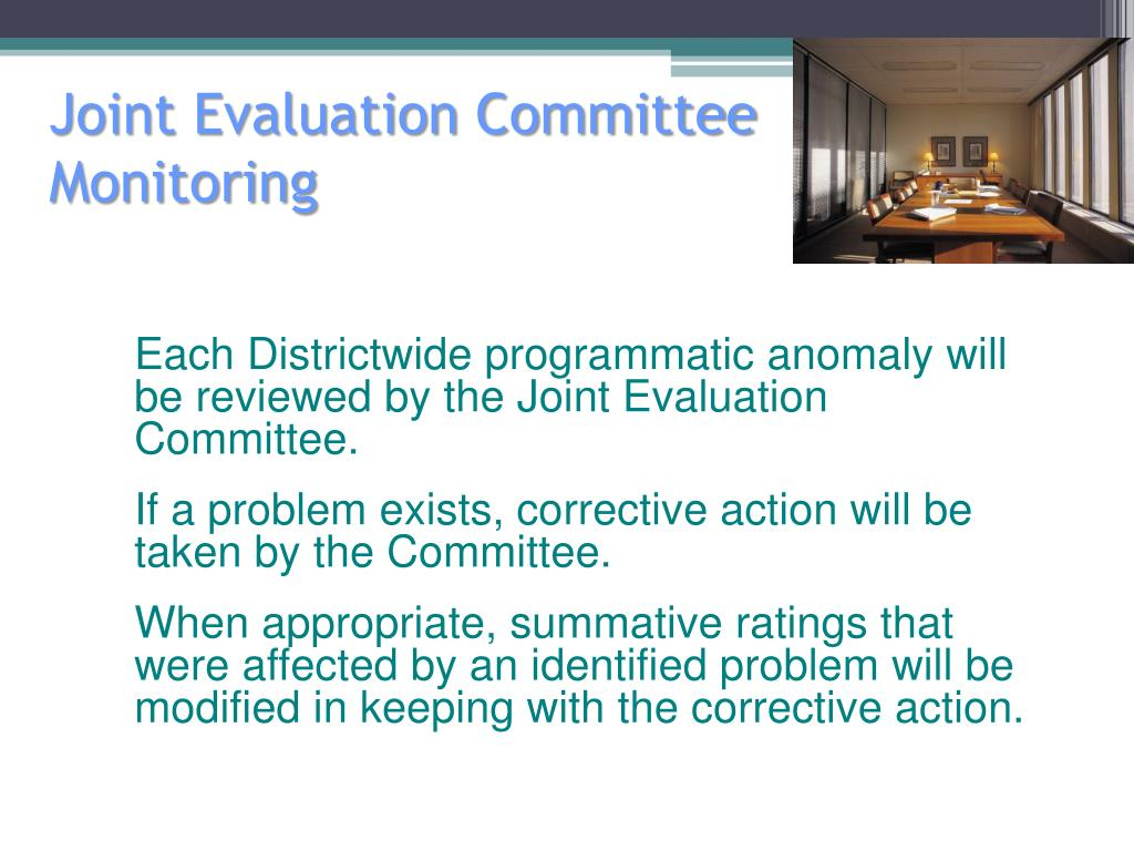 Joint Evaluation Committee
