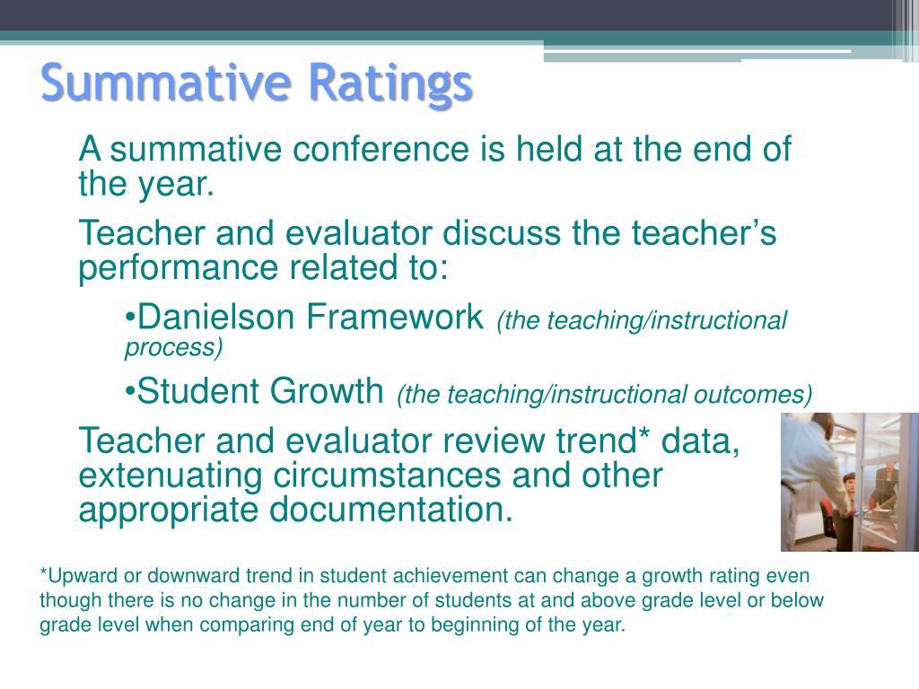 Summative Ratings