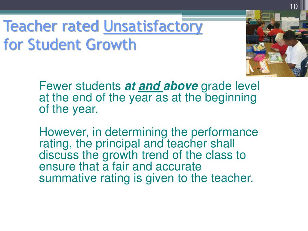Teacher rated