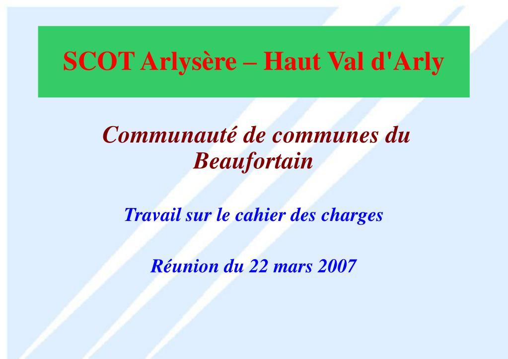 Communauté de communes du Beaufortain