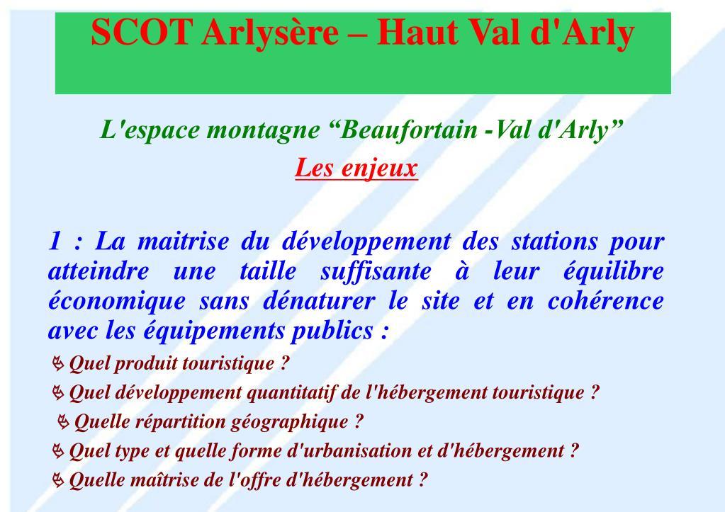 """L'espace montagne """"Beaufortain -Val d'Arly"""""""