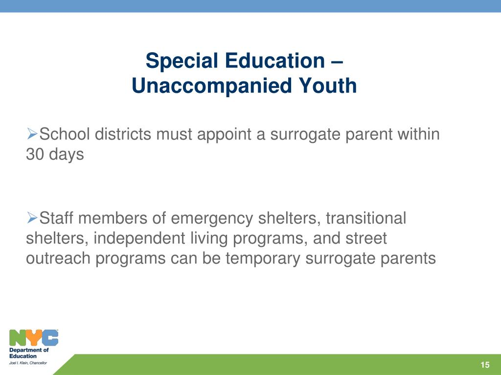 Special Education –