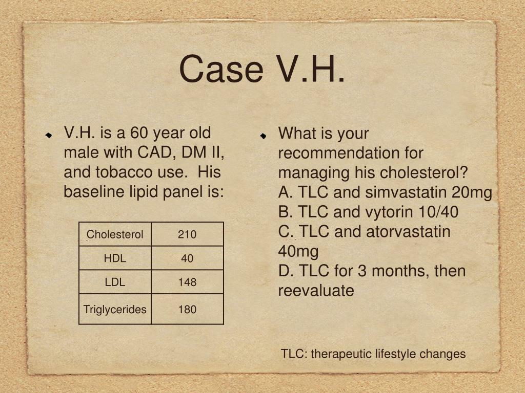 Case V.H.