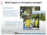 noaa support to emergency managers