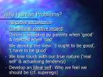 why human problems
