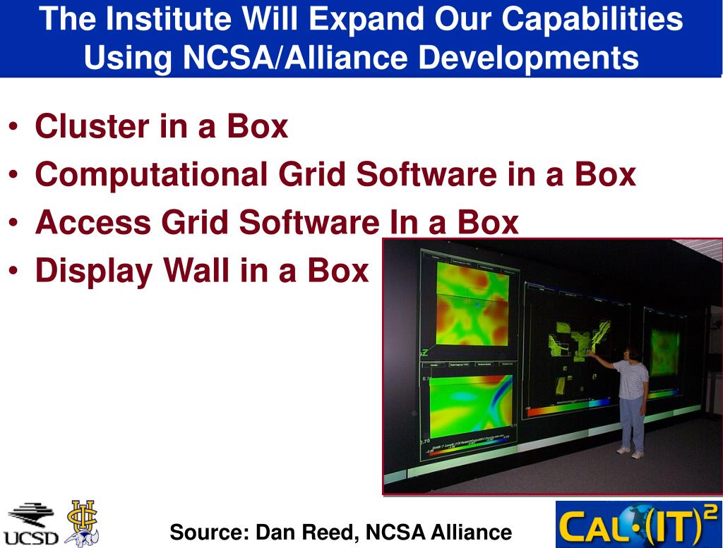 The Institute Will Expand Our Capabilities