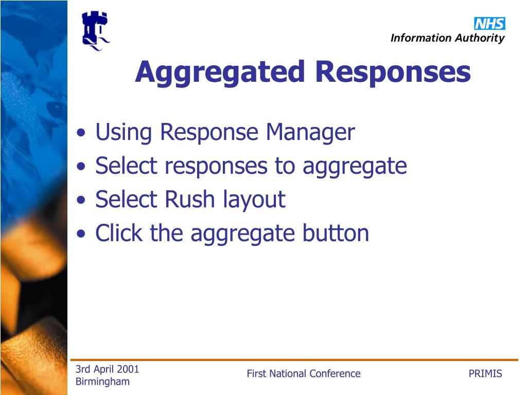 Aggregated Responses