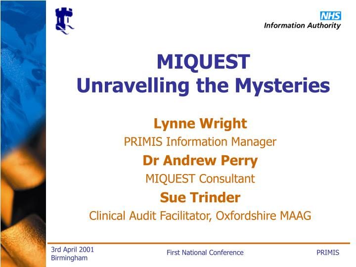 Miquest unravelling the mysteries3