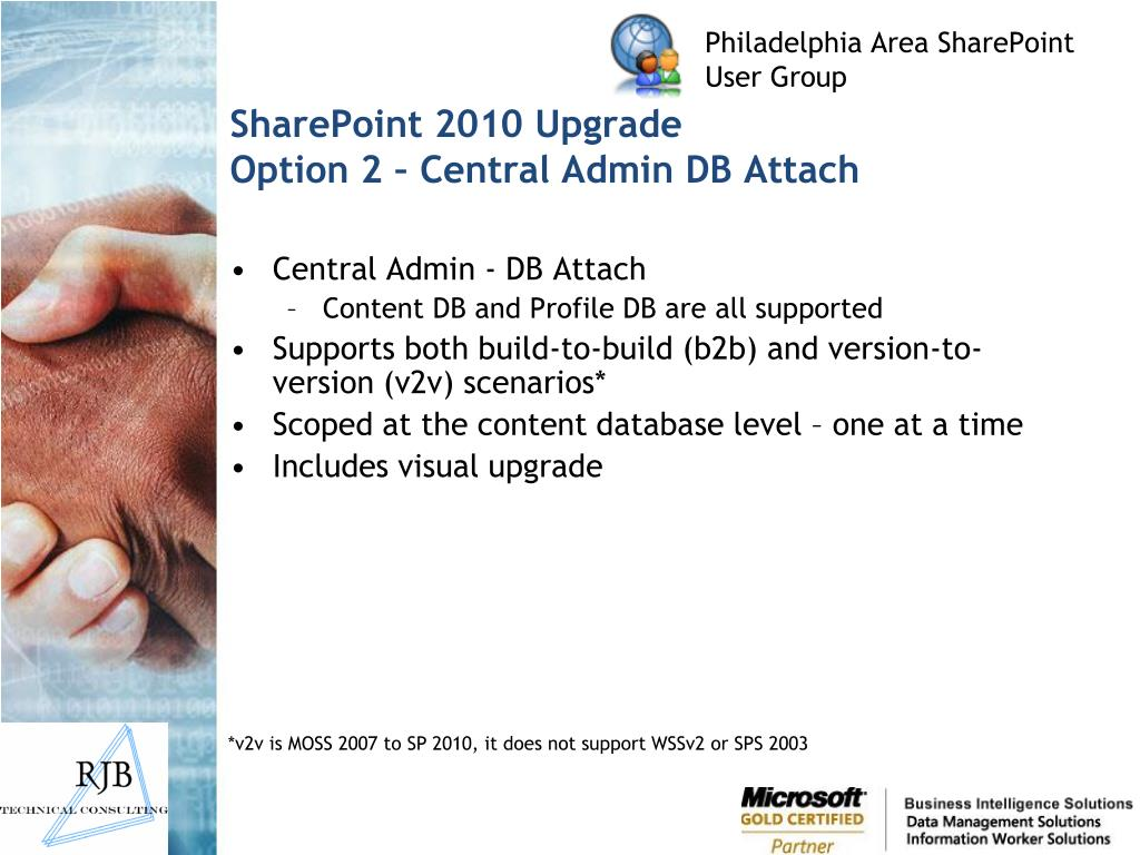 SharePoint 2010 Upgrade