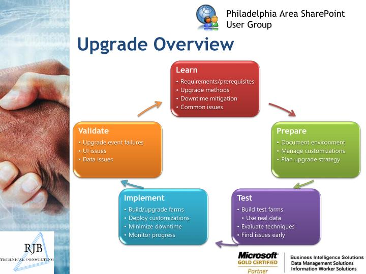 Upgrade overview