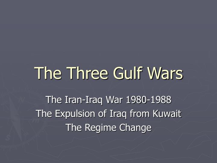 the three gulf wars n.