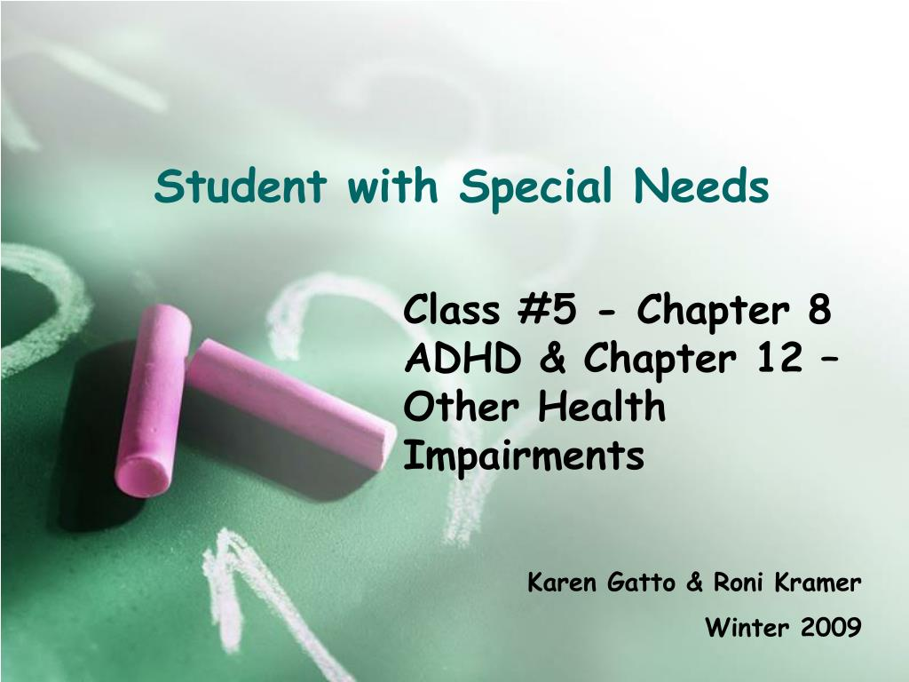 Student with Special Needs
