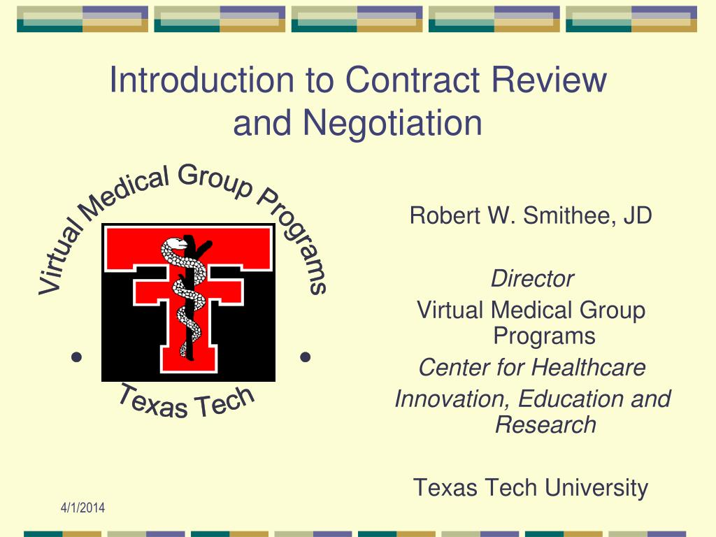 introduction to contract review and negotiation l.
