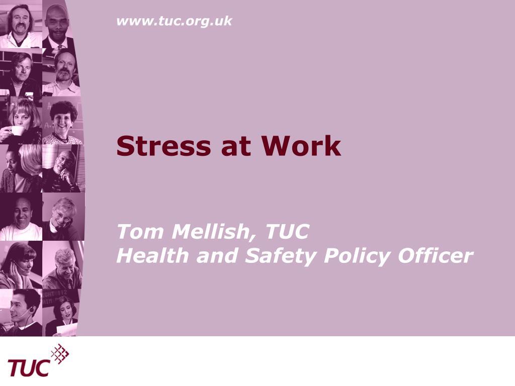 stress at work l.