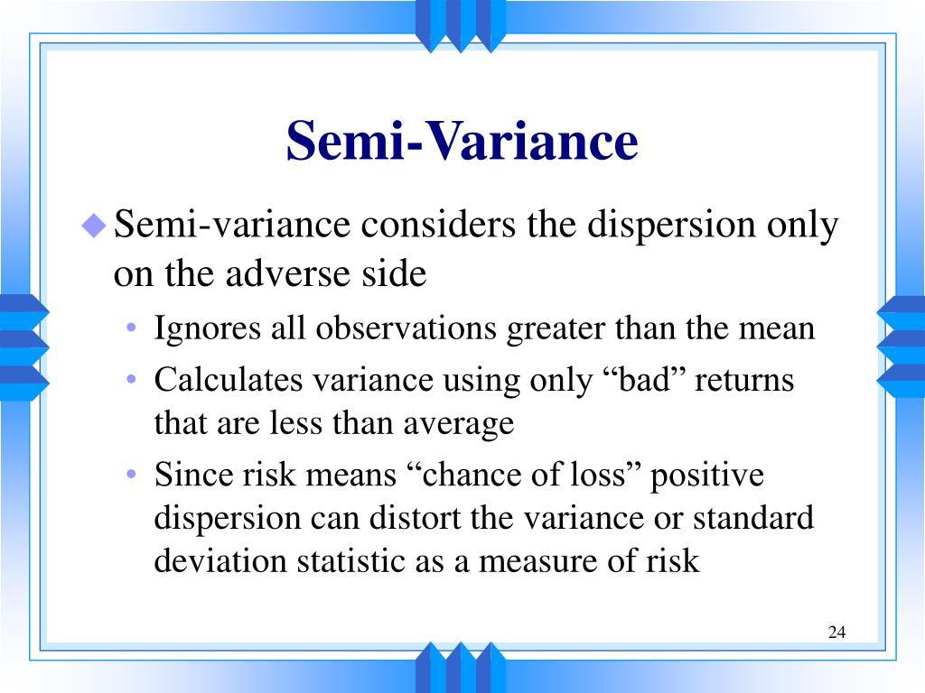 Semi-Variance