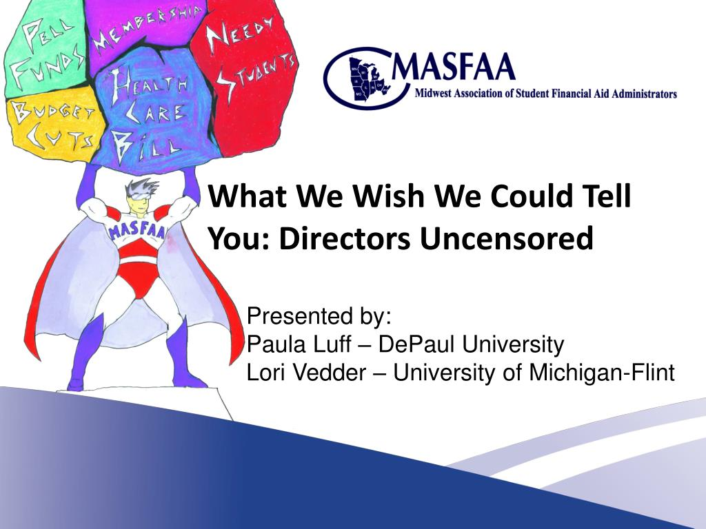 What We Wish We Could Tell You: Directors Uncensored