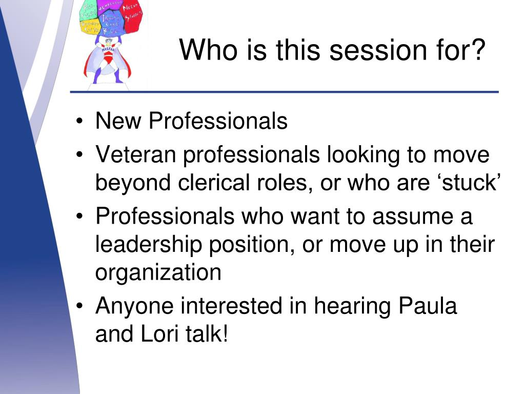 Who is this session for?