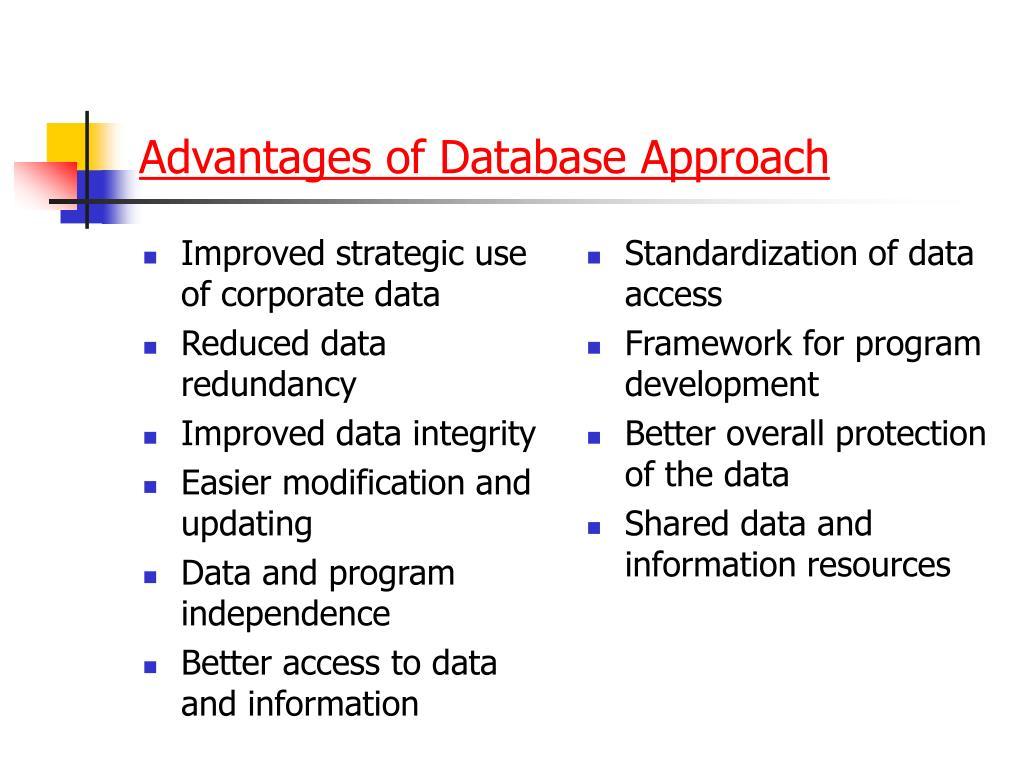 Improved strategic use of corporate data