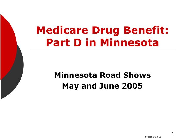 medicare drug benefit part d in minnesota n.