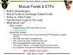 mutual funds etfs