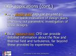 cfd applications cont