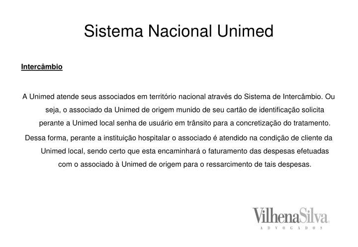 Sistema nacional unimed3