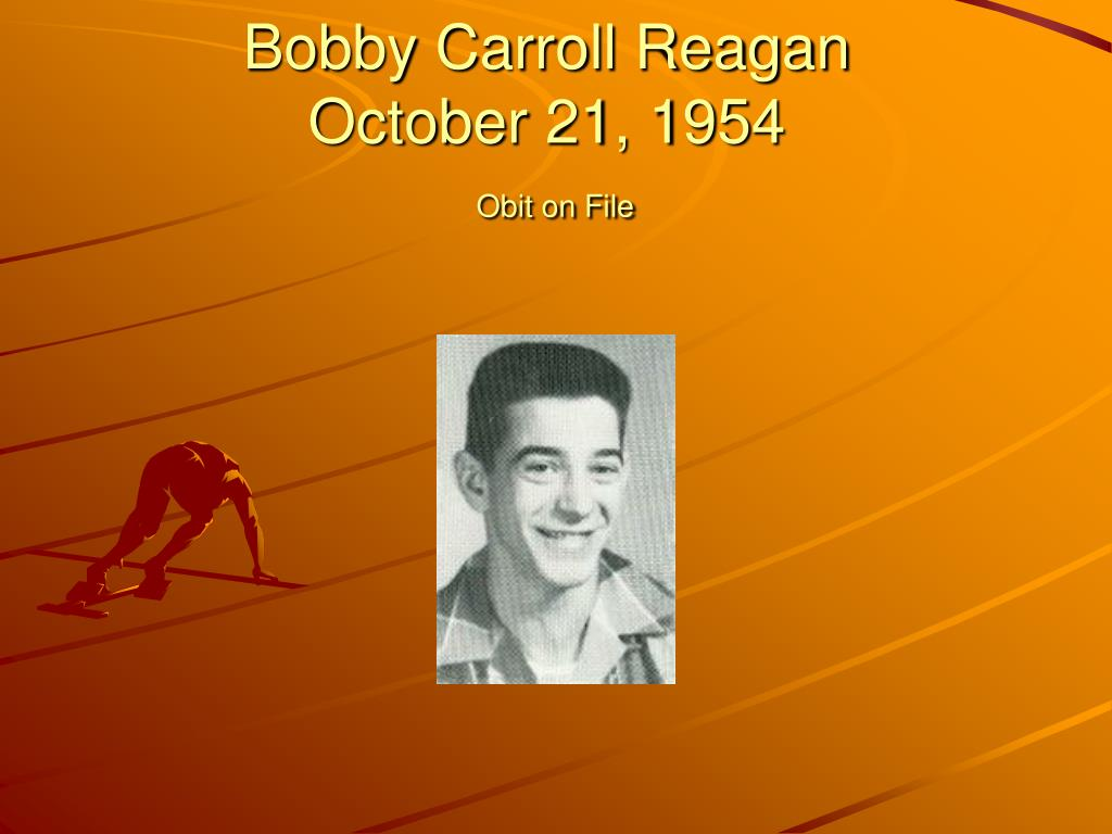 Bobby Carroll Reagan