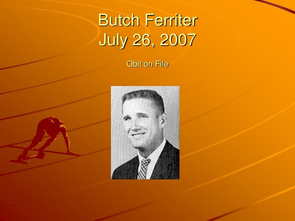 Butch Ferriter