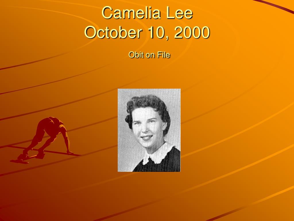 Camelia Lee