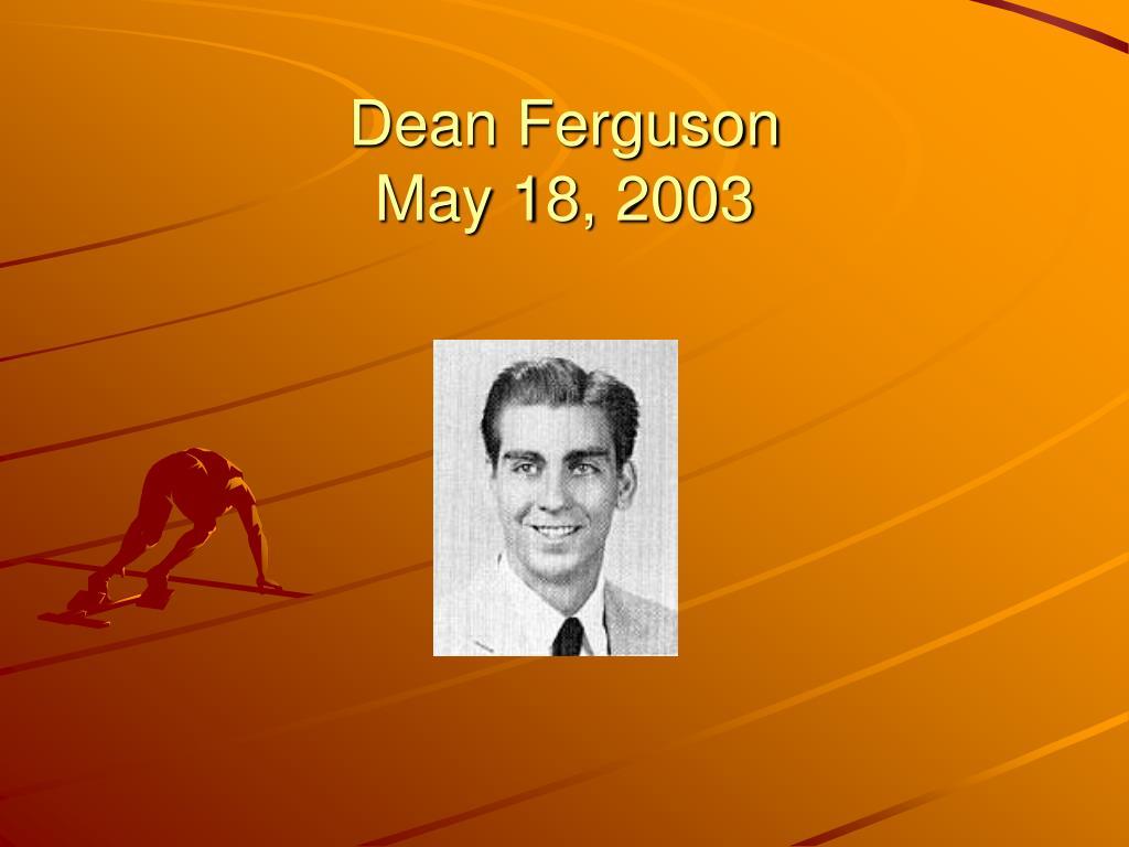 Dean Ferguson